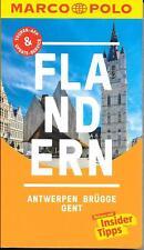 Flandern Antwerpen Brügge Gent Marco Polo Reiseführer & Extra-Faltkarte