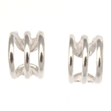 Cuff Clip - On Sterling Silver Fine Earrings