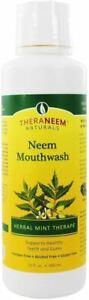 Theraneem Neem Mouthwash Herbal Mint - 480ml