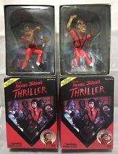 """Thriller : Michael Jackson & Zombie Michael  PVC 7"""" figure set   Canyon Crest"""