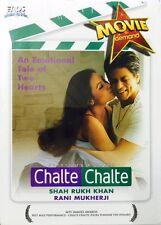 Chalte Chalte - Shah Rukh Khan Rani Mukerji - Hindi Movie DVD Region Free Subtit