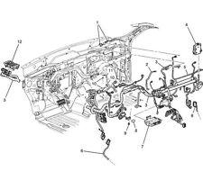 2012-14 Tahoe Yukon Hybrid New Genuine OEM Wiring Harness Instrument 22899200