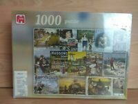 Jumbo Falcon Deluxe 1000 Piece Jigsaw Puzzle Soaps Brand New & Sealed
