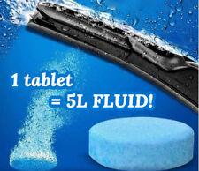 SCREEN WASH WINDSCREEN FLUID TABLETS :: 1 = 5L READY TO USE FLUID