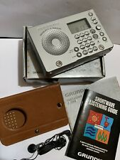 VINTAGE RADIO GRUNDIG WORLD-WIDE 4-BANDS  MW(-AM)-FM-SW1-SW2 1960s-1980S