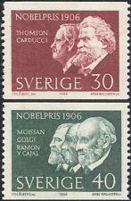 Sweden 1966 Nobel Prize Winners/Scientists/Writers/Medical/People 2v set n43551a