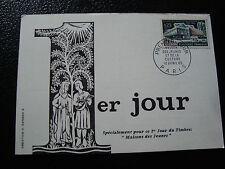 FRANCE - carte 1er jour 10/4/1965 (maisons des jeunes) (cy56) french