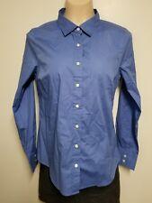 J.Crew Haberdashery Shirt Blue Long Sleeve Button Up - Size M