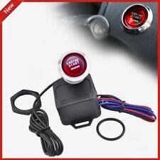 12V Car Engine Start Push Button Switch Ignition Starter Kit RED LED Switch O