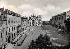 Cartolina - Postcard - Mantova - Piaza Sordello - Animata - Bus  - 1954