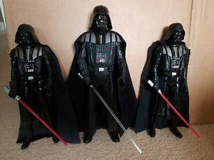 "Star Wars Hasbro Anakin/darth Vader Interactive 13"" Figure And Hasbro Darth..."