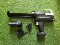 Cordless Battery Caulking Gun Mastic Gun With Battery & Charger