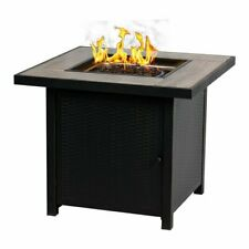 Gas Fire Table 30-in W 50000-BTU BALI OUTDOORS LP Propane Gas Fireplace Outdoor