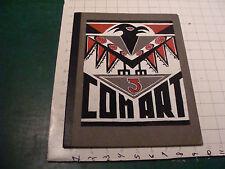 vintage origianl 1940'S Art Work folder - COM ART 3 RADACK, E NEWTOWN v cool