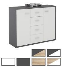 Sideboard Kommode Mehrzweckschrank für Wohnzimmer Anrichte Design 2 Türen