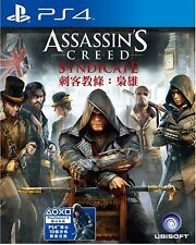 NUEVO juego para Sony Playstation 4 PS4 Assassin's Creed Syndicate Chi Ver
