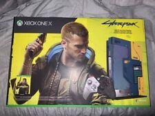 Microsoft Xbox One X Cyberpunk 2077 Limited Edition Console Bundle - 1TB