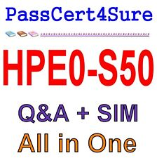 Integrating HPE Synergy Solutions HPE0-S50 Exam Q&A+SIM