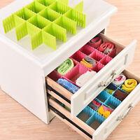 Useful Set Of 4Pcs Plastic Adjustable Clapboard Drawer Divider Organizer Tool