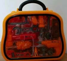 Children Kids Toy Tool Case Box Set DIY Builders Boys Girls Toys 23pcs Tools