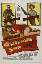 OUTLAW'S SON Movie POSTER 27x40 B Dane Clark Ben Cooper Lori Nelson Ellen Drew