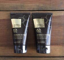 The Body Shop Honey Bronze Bronzing Body BB Cream Lot Of 2 Sealed Brand New