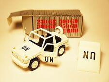 Mercedes W 461 G Modell WOLF weiß white UN UNITED NATIONS, Cursor 1:35 boxed ALT