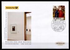 """Gemälde """"Heimsuchung"""" Gemälde von van der Weyden(1400-1464).FDC.Berlin. BRD 2014"""
