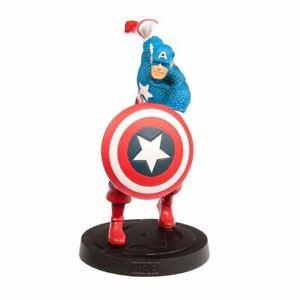 Eaglemoss Avengers Superhero- CAPTAIN AMERICA, Marvel Fact Files Avengers