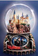 Harry Potter Hogwarts Illuminated Hedwigs Theme Musical Snow Globe NIB Christmas