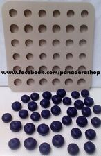 1pc  Blueberry Chocolate Candy Jelly Soap Embeds Silicone Mold Molder