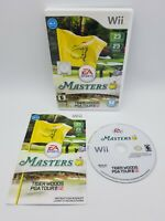 Tiger Woods PGA Tour 12: The Masters (Nintendo Wii, 2011) Complete CIB Tested