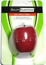 Red Apple Timer - Classroom Kitchen Teacher Timer - NEW