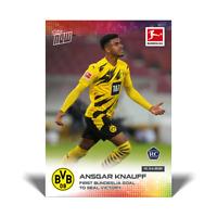 Ansgar Knauff RC - Borussia Dortmund - 4/10/21 Bundesliga Topps Now Card #164