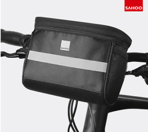 Sahoo Handlebar Bag 3.5L, Water Resistant Thermal Insulation Cycling Basket