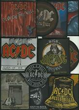 AC/DC bunch of 13 top sellers WOVEN SEW ON PATCHES official ANGUS YOUNG no.3/4