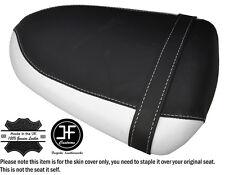 DESIGN 2 BLACK & WHITE CUSTOM FITS SUZUKI GSXR 1000 05-06 REAR SEAT COVER