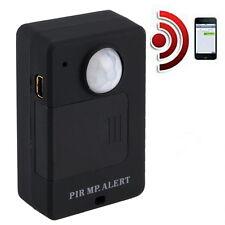 Mini PIR Alert Sensor Infrared GSM Wireless Alarm Monitor Motion Detection YP