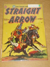 STRAIGHT ARROW #2 FN+ (6.5) RED HAWK INTRO MAGAZINE ENTERPRISES APRIL 1950