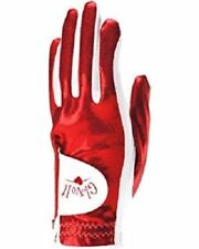 New Ladies Glove It Red Clear Dot Golf Glove. Size Small, Medium, Large Or Xl
