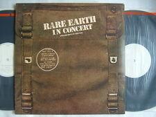 PROMO WHITE LABEL / RARE EARTH IN CONCERT / 2LP