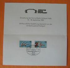 BRIEFMARKEN BRD SPORTHILFE 1983