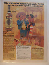 1983 Print Ad Montezuma Tequila ~ Win a Mexican Restaurant Party