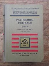 PRECIS DE PATHOLOGIE MEDICALE 1942 TOME 3