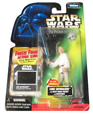 Star Wars The Power of the Force Luke Skywalker with Freeze Frame