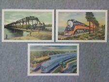 Vintage Trains Postcard Calendar - Set of 3 Postcards  ~TS
