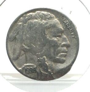 1936 Indian Head Buffalo Nickel 5¢