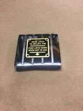 Ecco Air Meter Islander Scuff Plate Brass Tag