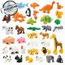 Free shipping bricks duplo animal 23 kinds Education Toys building blocks childr