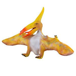 "Large 20"" (50cm) Soft Stuffed Rubber Dinosaur Pterosaur  Realistic Jurassic Toy"